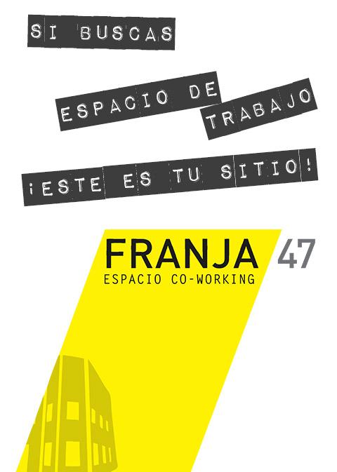imagen del logotipo del coworking Franja 47